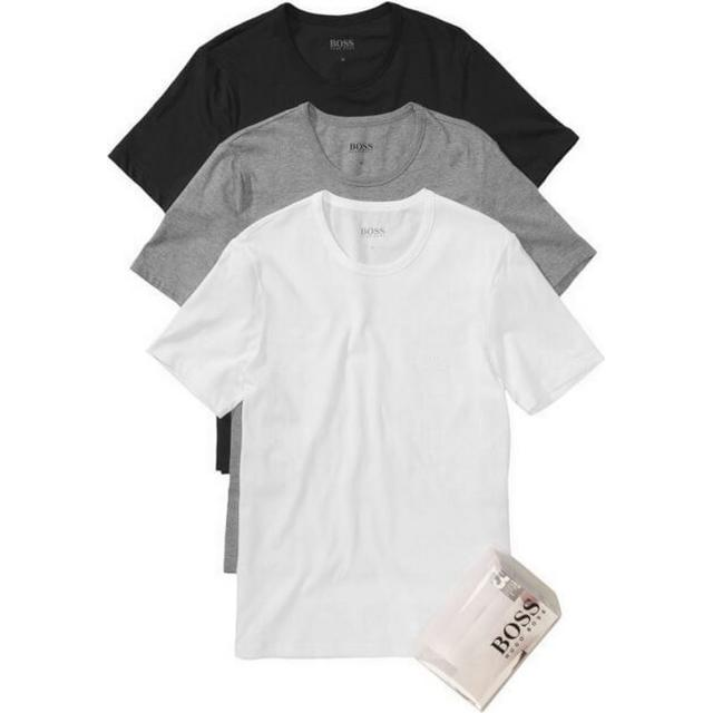 Hugo Boss Regular-Fit Cotton T-shirts 3-pack - Assorted Pre Pack