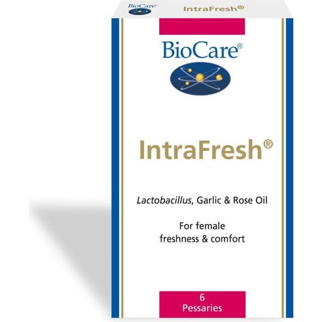 BioCare Intrafresh Pessaries 6-pack
