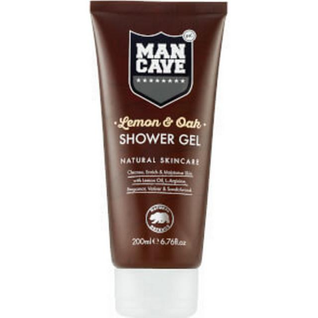 ManCave Lemon & Oak Shower Gel 200ml