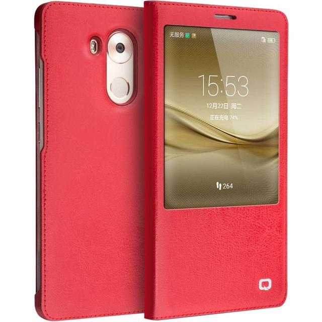 Qialino Classic Pattern Magnetic Leather Flip Case (Mate 8)