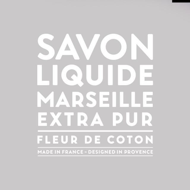 Compagnie de Provence Savon De Marseille Extra Pur Solid Soap Cotton Flower 100g