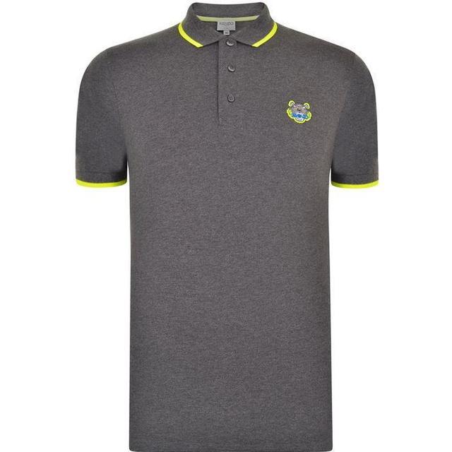 Kenzo Tiger Polo Shirt Dark Grey