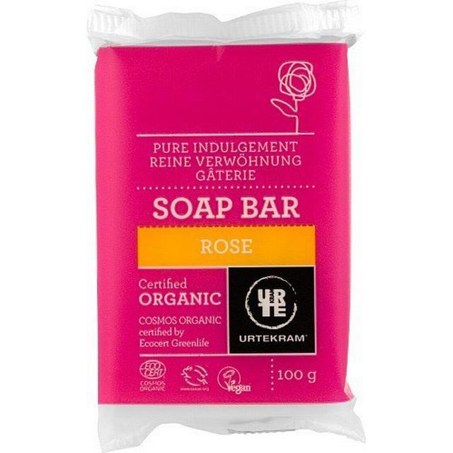 Urtekram Rose Bar Soap 100g