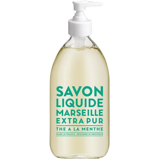 Compagnie de Provence Savon De Marseille Extra Pur Liquid Soap Mint Tea 500ml