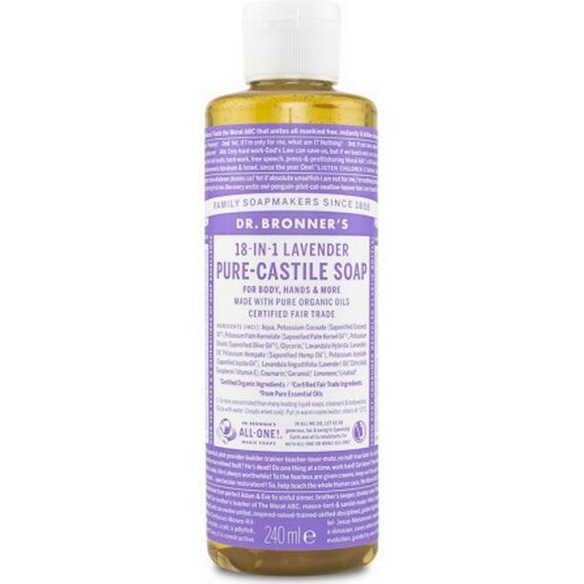 Dr. Bronners Pure Castile Liquid Soap Lavender 240ml