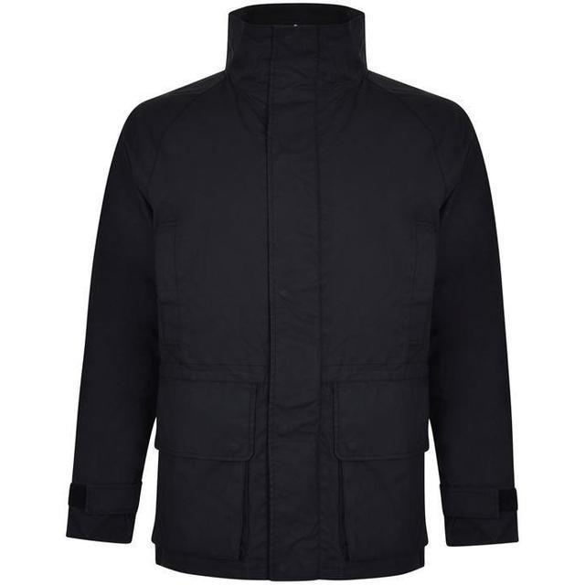 DKNY Pocket Trenchcoat - Black