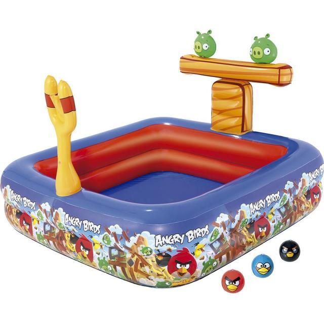 Bestway Angry Birds Interactive Pool Se Priser 2