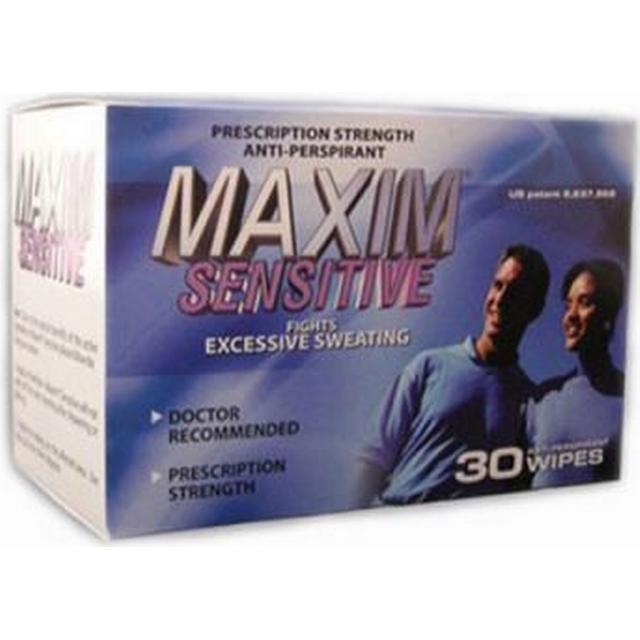 Maxim Antiperspirant Wipes Sensitive 30-pack