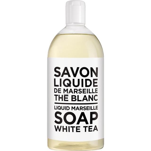 Compagnie de Provence Savon De Marseille Soap White Tea Refill 1000ml