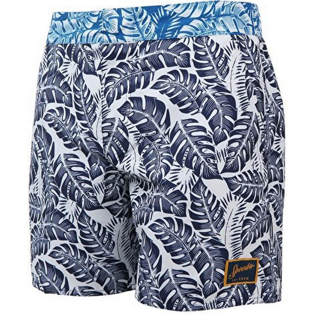 "Speedo Vintage Printed 16"" Shorts"