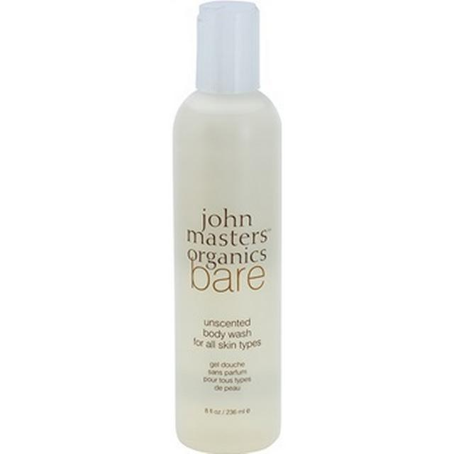 John Masters Organics Bare Unscented Shower Gel 236ml