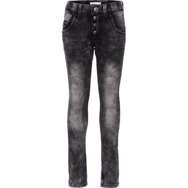 Name It Nittaylor Regular Fit Jeans - Grey/Dark Grey Denim (13135743)