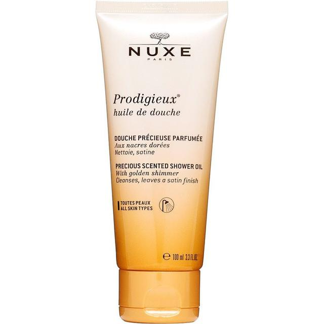 Nuxe Prodigieux Precious Scented Shower Oil with Golden Shimmer 100ml