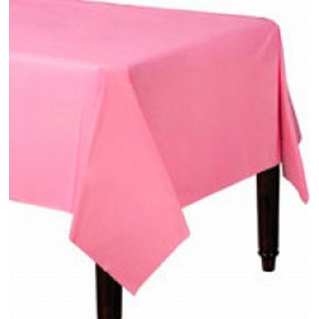 Amscan Paper Table Covers Bright Pink Disposable Dinnerware (57115-103)