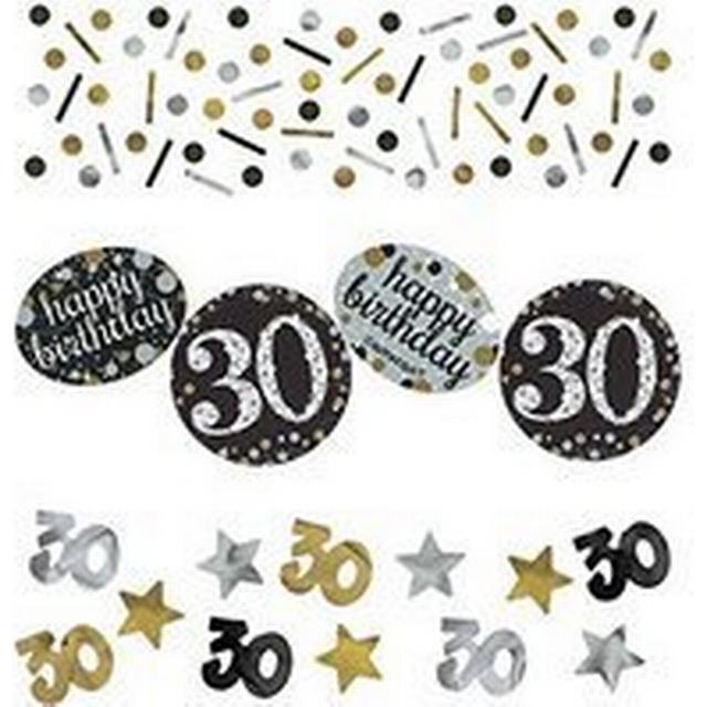 Amscan 30th Birthday Gold Sparkling Celebration Confetti