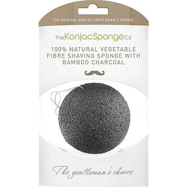 Konjac Premium Gentlemen's Sponge with Bamboo Charcoal