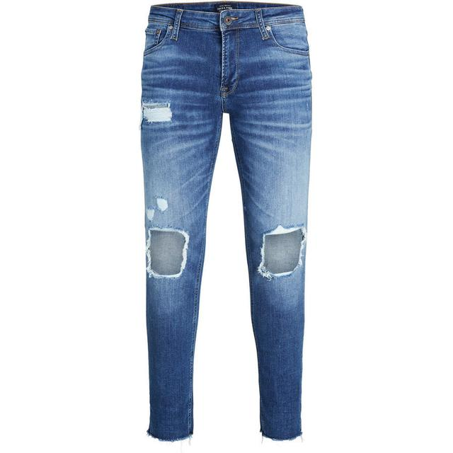 Jack & Jones Liam Original 055 50SPS Skinny Fit Jeans - Blue/Blue Denim