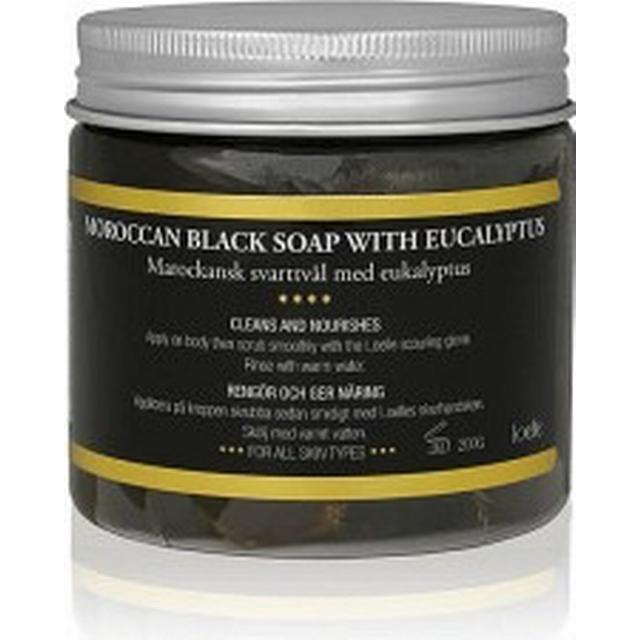 Loelle Moroccan Black Soap with Eucalyptus 200g