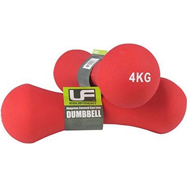 UFE Bone Dumbbells Neoprene Covered 4kg