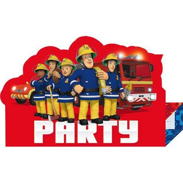 Amscan Fireman Sam Stand Up (9902184)