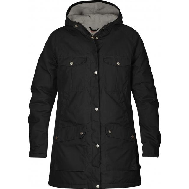 Fjällräven Greenland Winter Parka Black/Grey