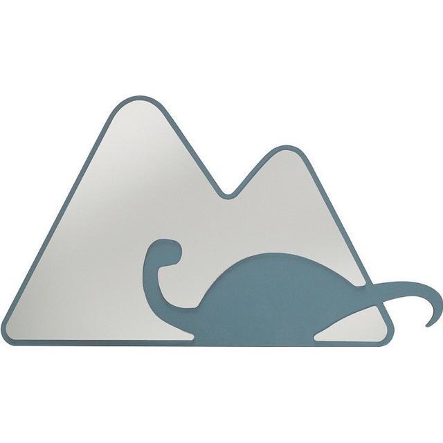 Sebra Spejl Bjerg Med Dino