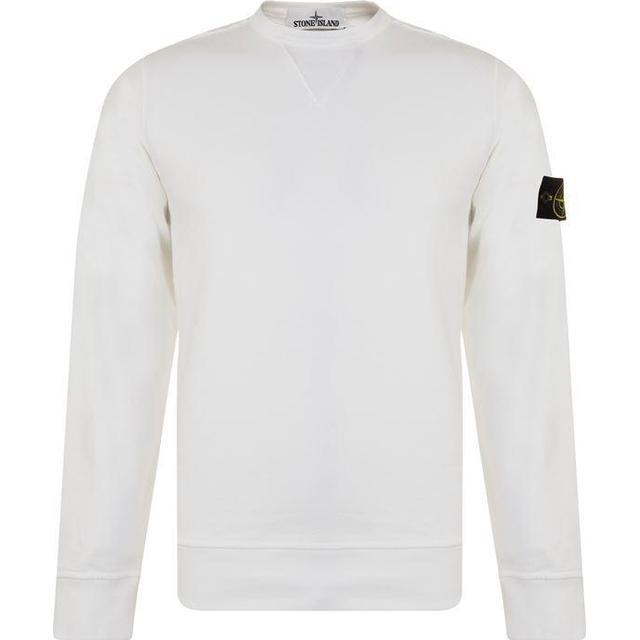Stone Island Cotton Sweatshirt White