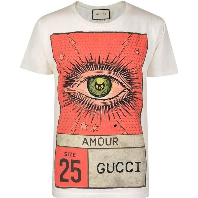 Gucci Amour Eye Print T-shirt White