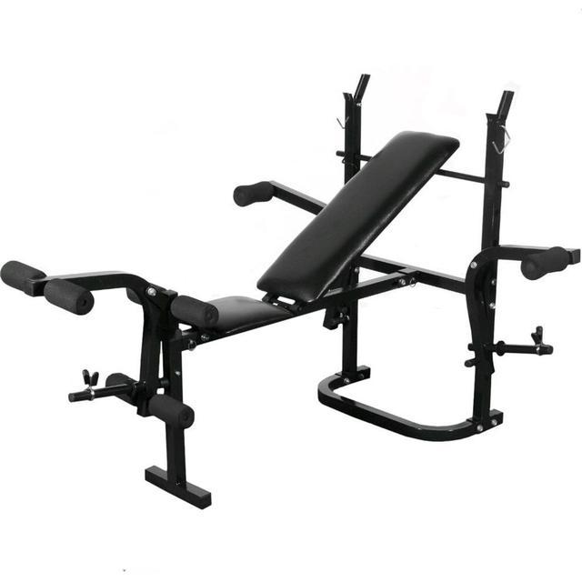 vidaXL Folding Weight Bench