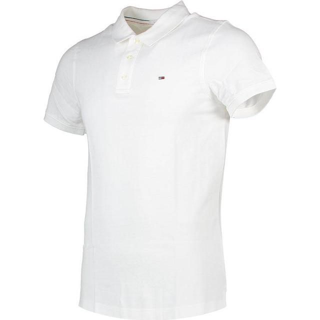 Tommy Hilfiger Original Pique Polo Shirt - Classic White