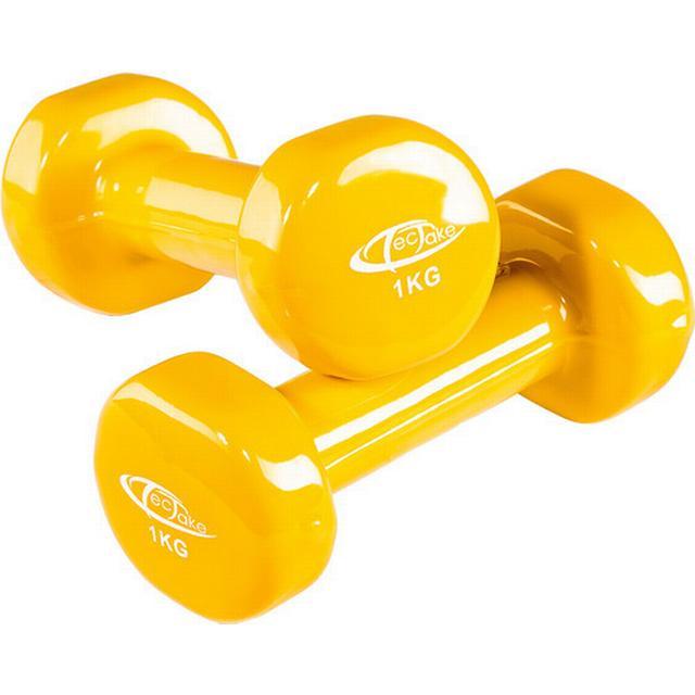 tectake Aerobic håndvægte 2x1kg