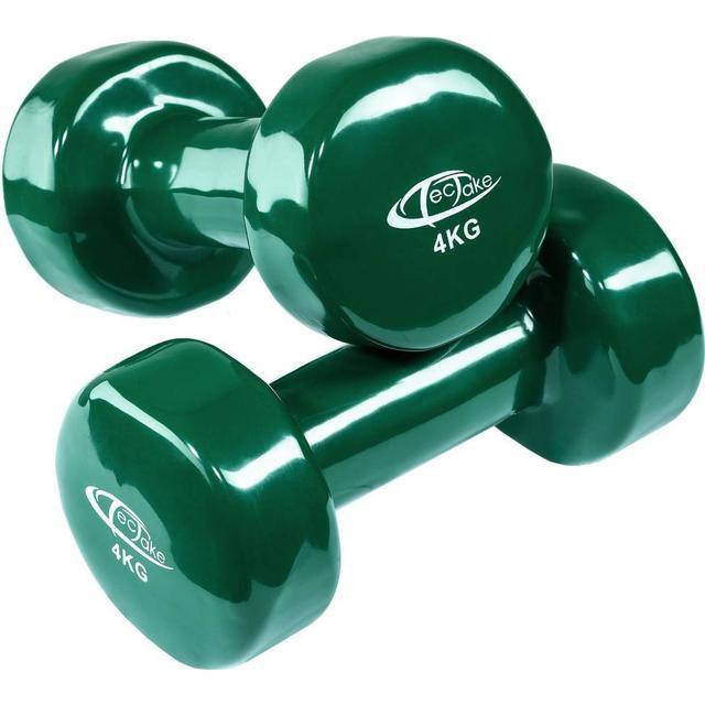 tectake Aerobic Håndvægte 2x4kg