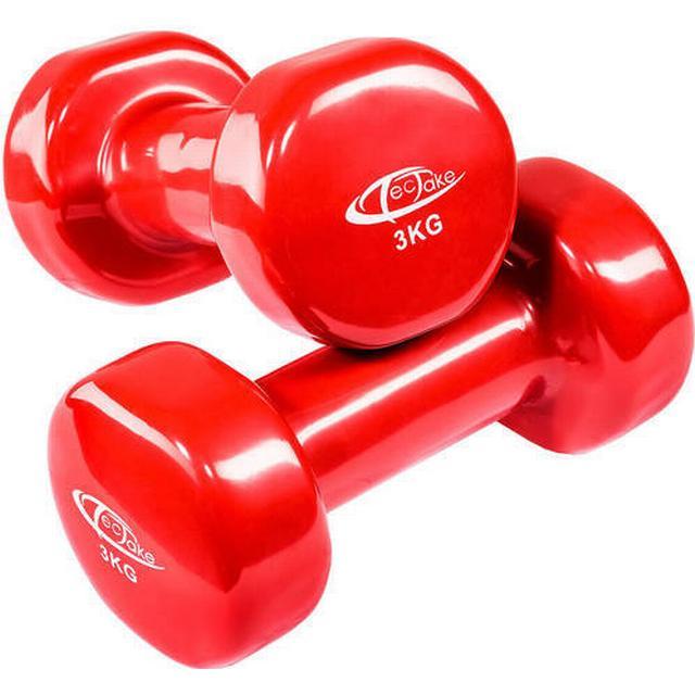 tectake Aerobic håndvægte 2x3kg