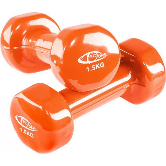 tectake Aerobic håndvægte 2x1.5kg