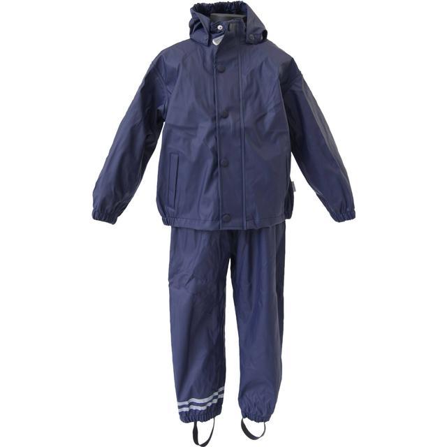 Mikk-Line PU Rainwear Basic Set - Navy (3330-286)