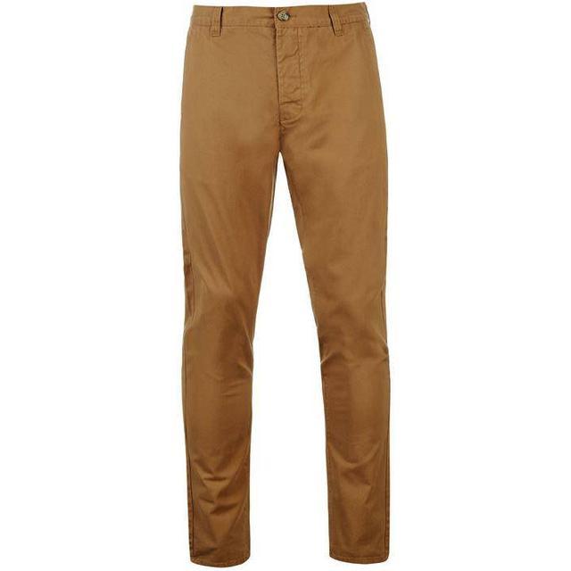 Kangol Chino Trousers - Dark Sand
