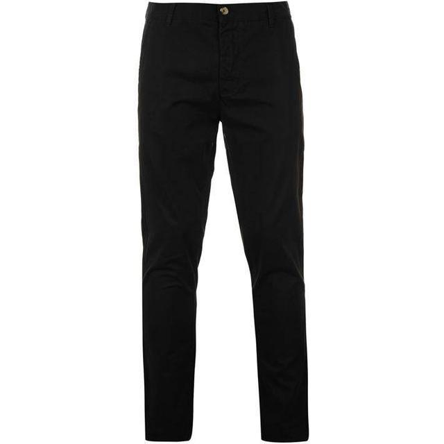 Kangol Chino Trousers - Black
