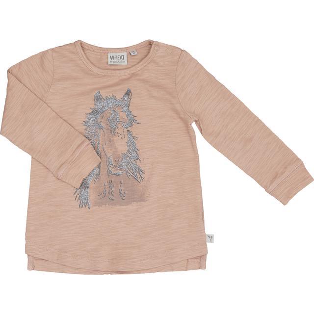 Wheat Horse Face T-shirt - Fawn