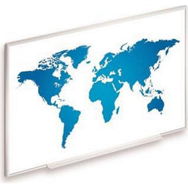 """Projecta Dry-Erase Screen Magnetic (16:10 87"""" Fixed Frame)"""