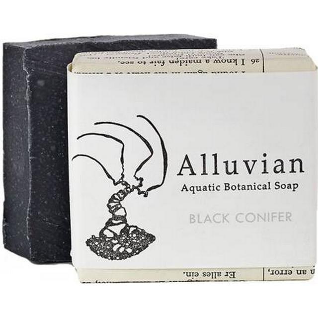 Alluvian Black Conifer Aquatic Botanical Bar Soap 99g