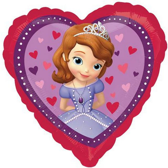 Amscan Disney Sofia The First Love Heart (2984001)