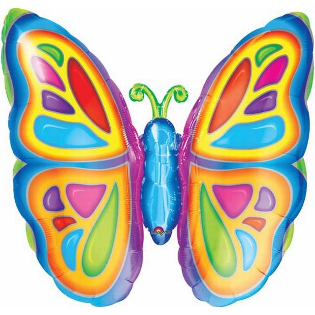 Amscan SuperShape Bright Butterfly (0725401)