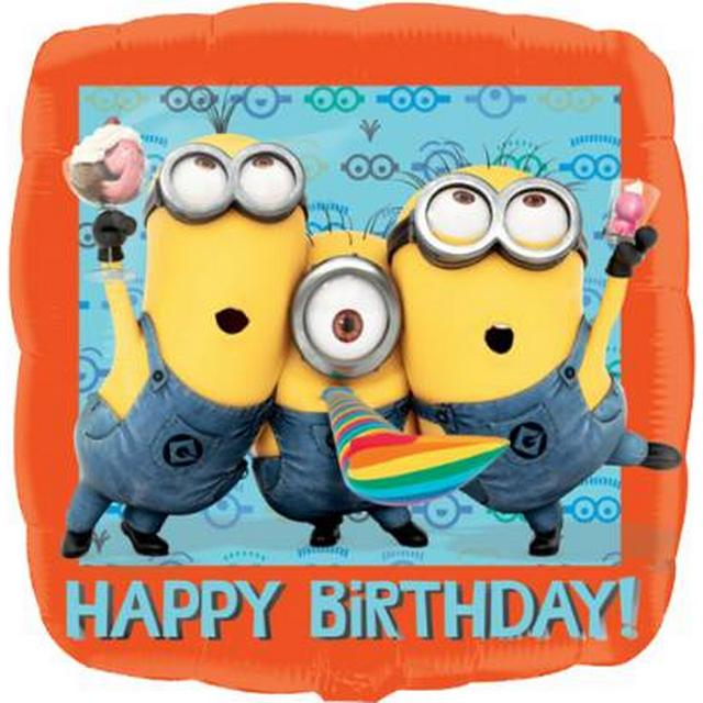 Amscan Standard Despicable Me Happy Birthday (2995301)