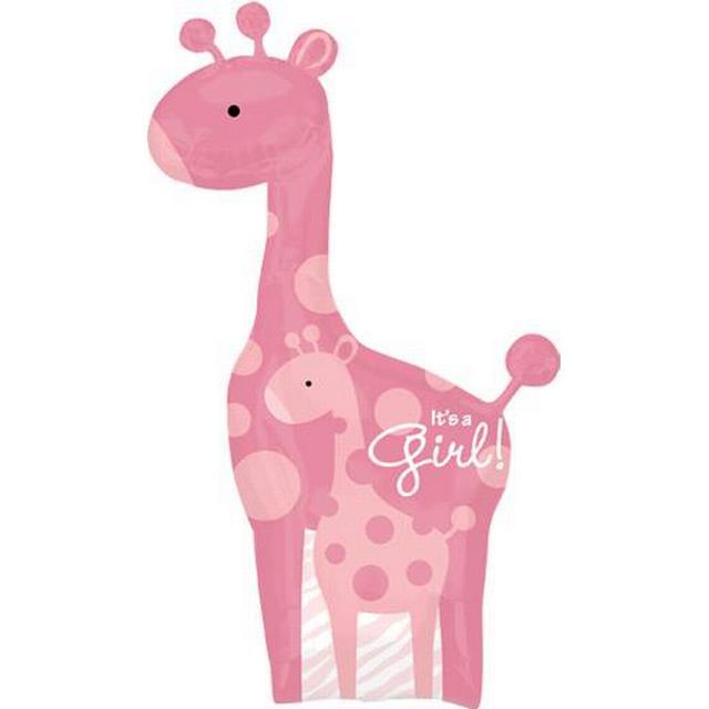 Amscan Mom & Baby Giraffes SuperShape XL (2518101)