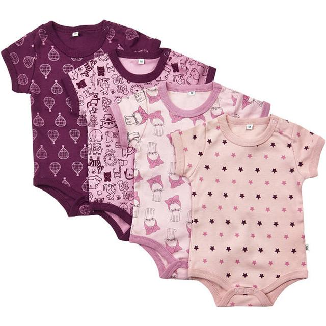 Pippi Body 4-pack - Lilac (3820-600)