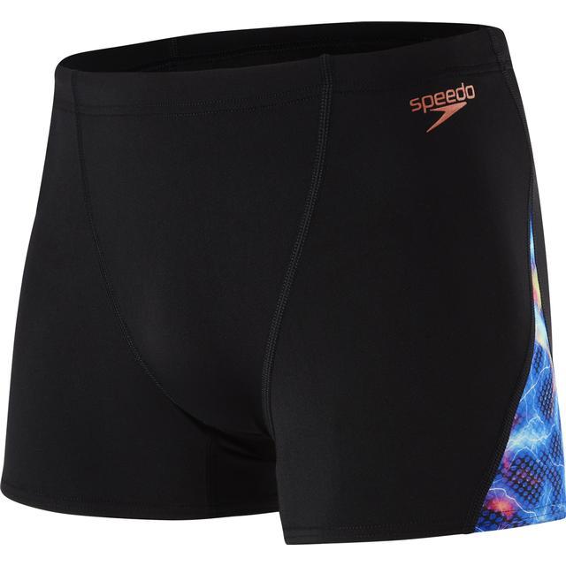Speedo Storm Wave Allover Digital V Panel Aqua Shorts