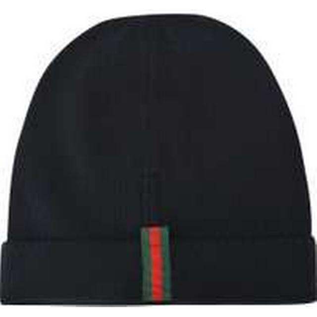Gucci Web Wool Hat Black