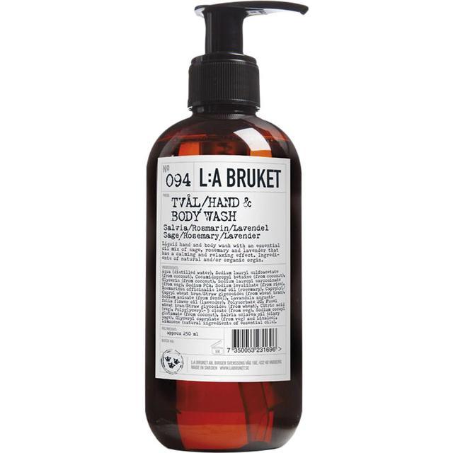 L:A Bruket 094 Hand & Body Wash Sage Rosemary Lavender 250ml