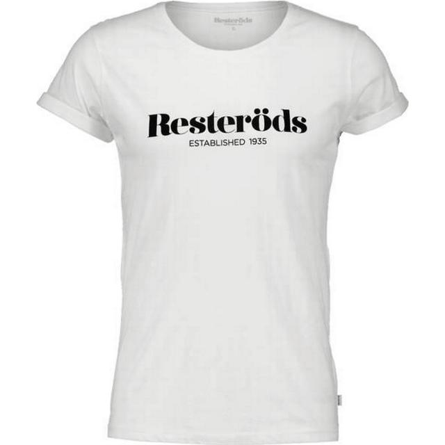 Resteröds Jimmy Logo T-shirt - White