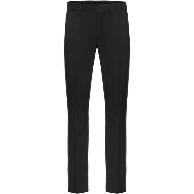 J. Lindeberg Paulie Comfort Wool Suit Trousers - Black/Black